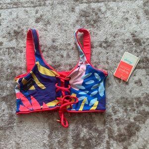 NWT Maaji Reversible Bikini Top